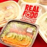 Alimentação transportada da Real Food