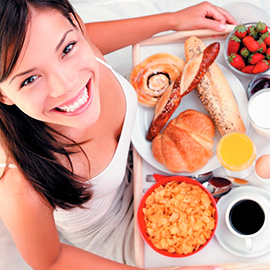 As vantagens do café da manhã