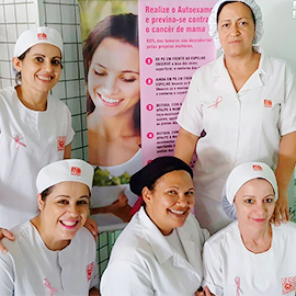 Equipe de mulheres