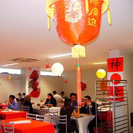 Evento com temática japonesa