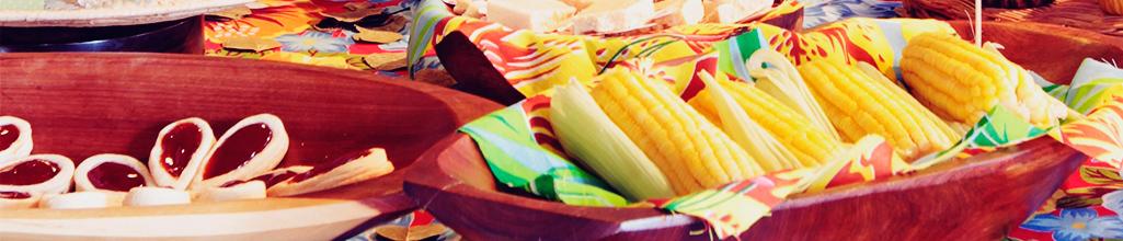 Festa Junina Alimentação para empresas sem excessos